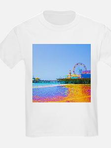 Funky Pixels Pier T-Shirt