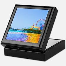 Funky Pixels Pier Keepsake Box