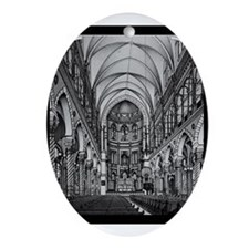 Immaculate Conception Oval Ornament