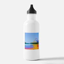 Funky Pixels Pier Water Bottle
