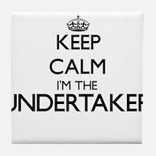 Keep calm I'm the Undertaker Tile Coaster