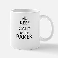 Keep calm I'm the Baker Mugs