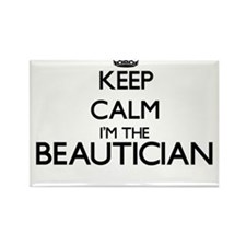 Keep calm I'm the Beautician Magnets