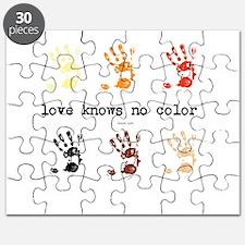 love knows no color Puzzle