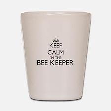 Keep calm I'm the Bee Keeper Shot Glass
