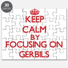 Keep Calm by focusing on Gerbils Puzzle