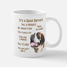 Saint Bernard FAQ Mug