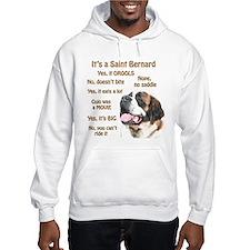 Saint Bernard FAQ Hoodie