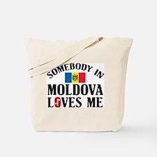 Somebody In Moldova Tote Bag