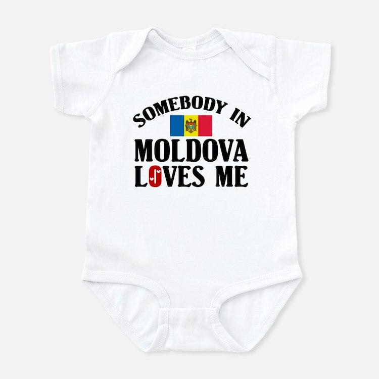 Somebody In Moldova Infant Bodysuit