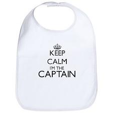 Keep calm I'm the Captain Bib