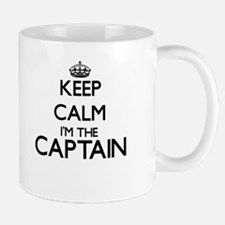 Keep calm I'm the Captain Mugs