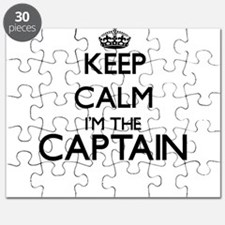 Keep calm I'm the Captain Puzzle