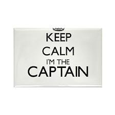 Keep calm I'm the Captain Magnets