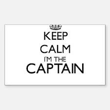 Keep calm I'm the Captain Decal