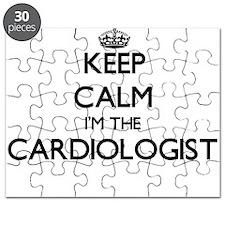 Keep calm I'm the Cardiologist Puzzle