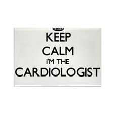 Keep calm I'm the Cardiologist Magnets