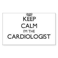 Keep calm I'm the Cardiologist Decal