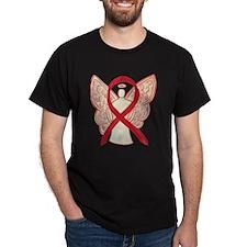 Red Ribbon Angel T-Shirt
