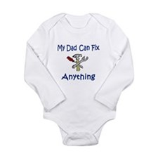 Unique My daddy Long Sleeve Infant Bodysuit