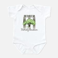 ADAIR family reunion (tree) Infant Bodysuit