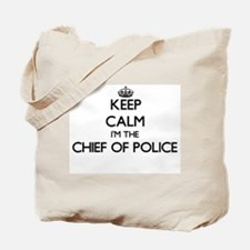 Keep calm I'm the Chief Of Police Tote Bag
