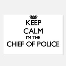Keep calm I'm the Chief O Postcards (Package of 8)
