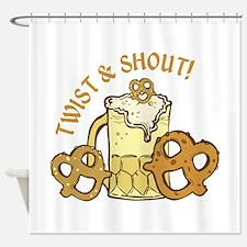 Twist & Shout Shower Curtain