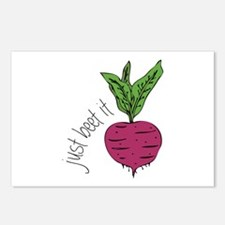 Just Beet It Postcards (Package of 8)