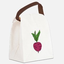 Beet Canvas Lunch Bag