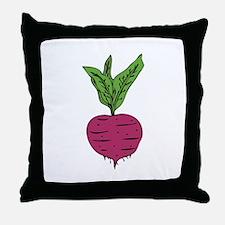 Beet Throw Pillow