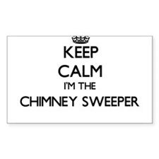 Keep calm I'm the Chimney Sweeper Decal