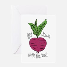 With The Beet Greeting Cards