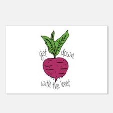 With The Beet Postcards (Package of 8)