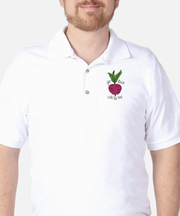 With The Beet Golf Shirt