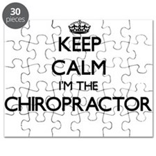 Keep calm I'm the Chiropractor Puzzle