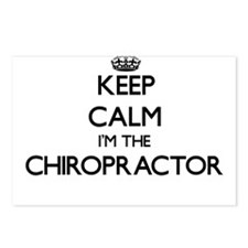 Keep calm I'm the Chiropr Postcards (Package of 8)