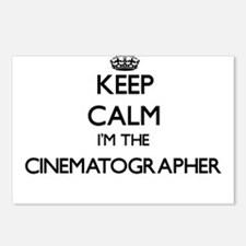 Keep calm I'm the Cinemat Postcards (Package of 8)