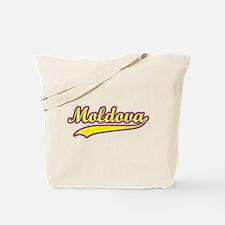 Retro Moldova Tote Bag