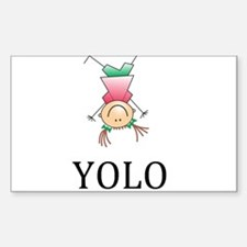 YOLO - You Only Live Once Decal