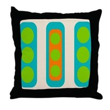 Mid-Century Modern Inspired Throw Pillow