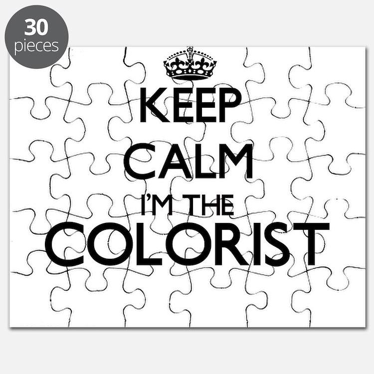 Keep calm I'm the Colorist Puzzle