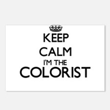 Keep calm I'm the Coloris Postcards (Package of 8)