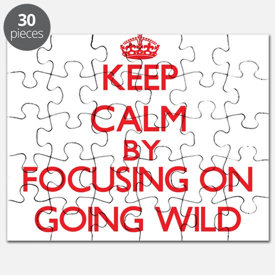 Keep Calm by focusing on Going Wild Puzzle