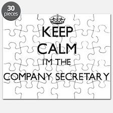 Keep calm I'm the Company Secretary Puzzle