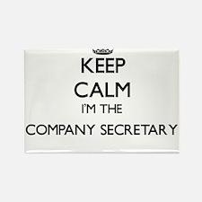 Keep calm I'm the Company Secretary Magnets