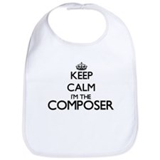 Keep calm I'm the Composer Bib