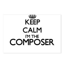 Keep calm I'm the Compose Postcards (Package of 8)