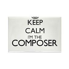 Keep calm I'm the Composer Magnets