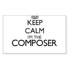 Keep calm I'm the Composer Decal